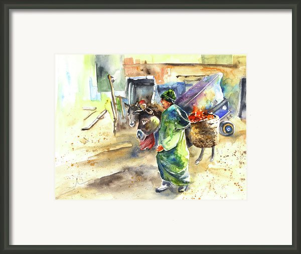 Morrocan Market 04 Framed Print By Miki De Goodaboom