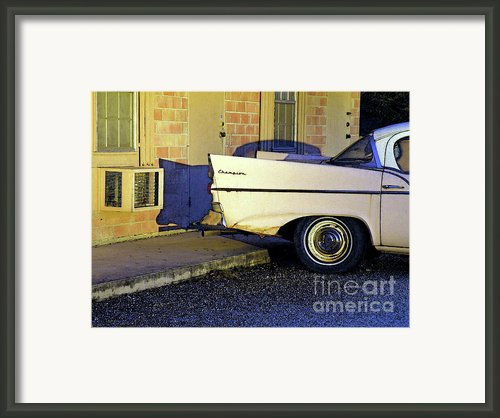 Motel Notell Framed Print By Joe Jake Pratt