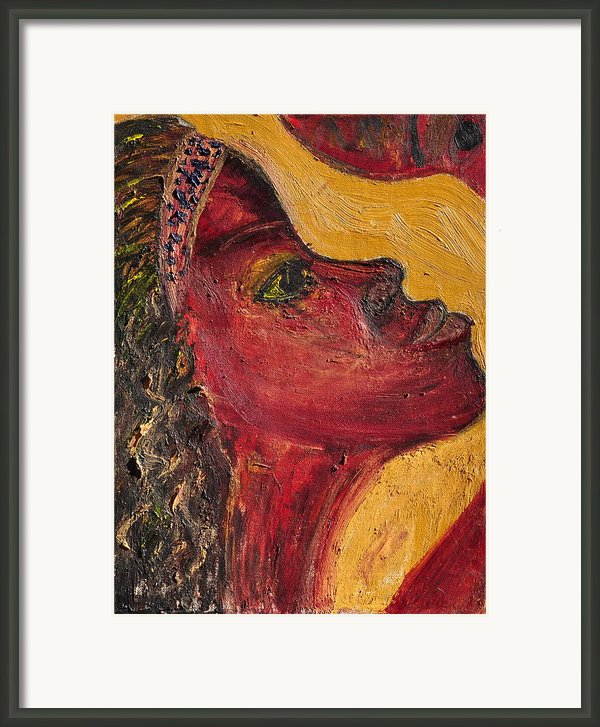 Mother And Child Framed Print By Calvert Johnny