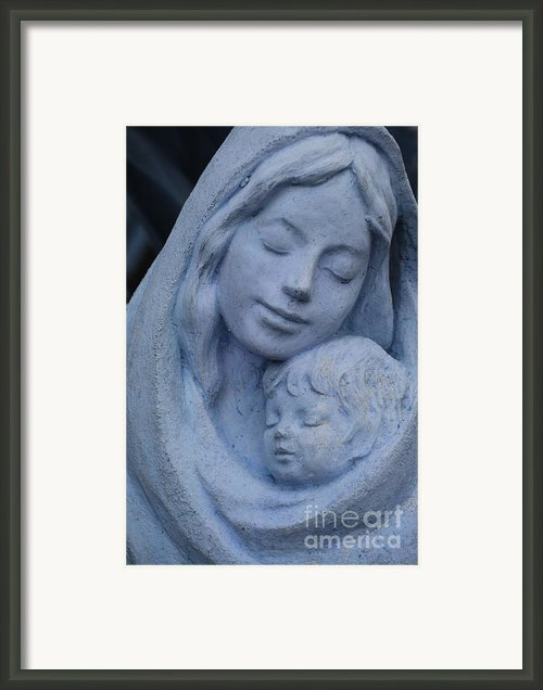 Mother And Child Framed Print By Susanne Van Hulst