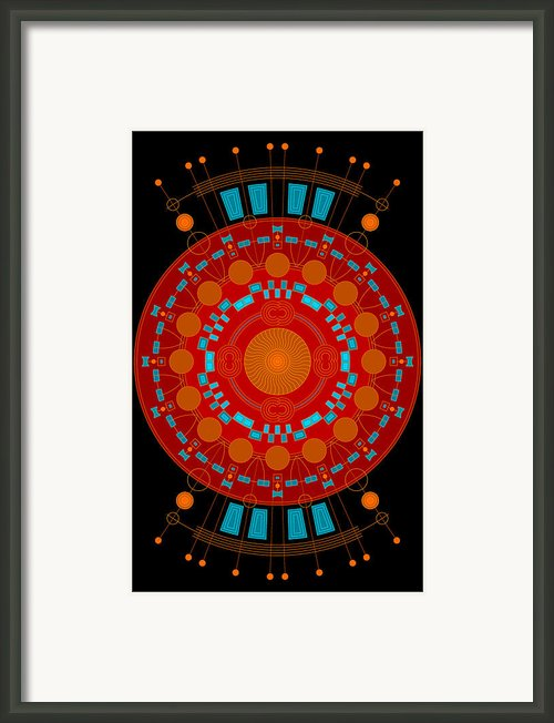 Mother Color Framed Print By Dean Caminiti