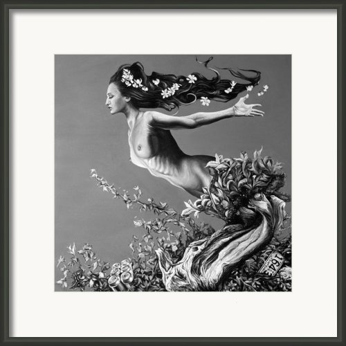 Mother Earth Framed Print By Brent Schreiber