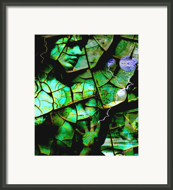 Mother Earth Framed Print By Yvon -aka- Yanieck  Mariani