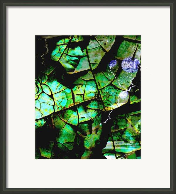 Mother Earth Framed Print By Yvon -aka- Yanieck  Mariani