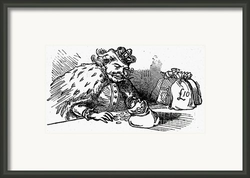 Mother Goose: King Framed Print By Granger