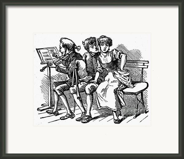 Mother Goose: Piper Framed Print By Granger
