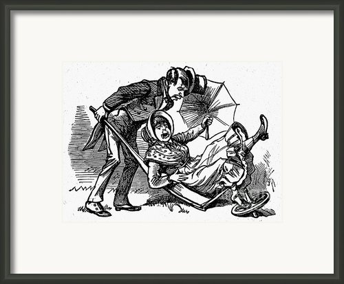 Mother Goose: Wife Framed Print By Granger