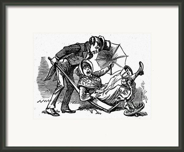 Mother Goose: Wife Framed Print By Granger