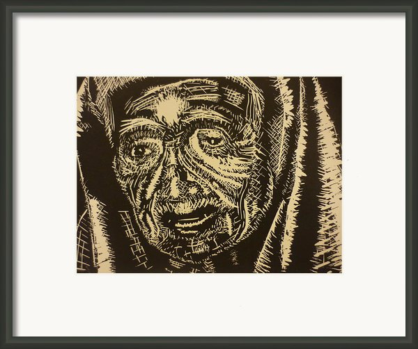 Mother Teresa Framed Print By Casey Park