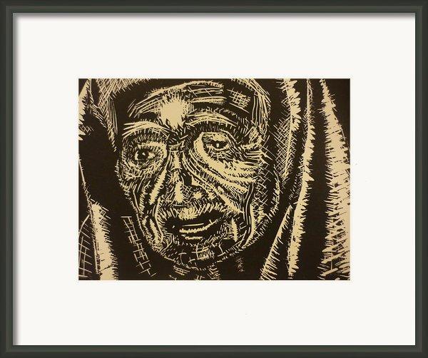 Mother Teresa Framed Print By Casey Park