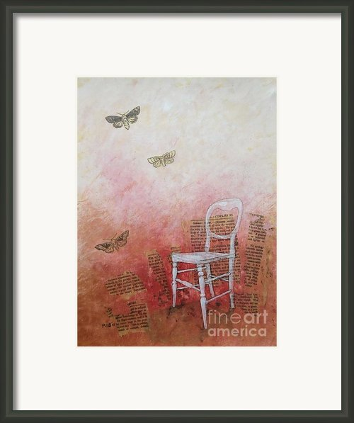 Moths Framed Print By Paul Obrien