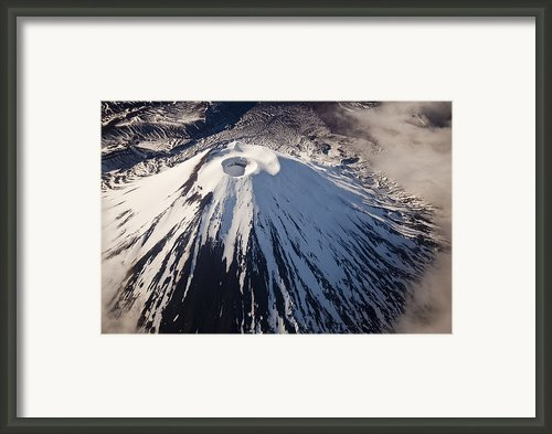 Mount Ngauruhoe Tongariro Np New Zealand Framed Print By Colin Monteath