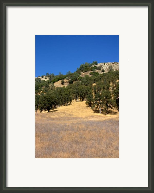 Mountain Colors Framed Print By Brad Scott