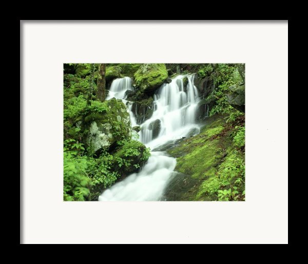 Mountain Falls Framed Print By Marty Koch