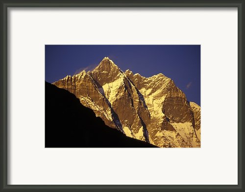 Mountain Peaks Framed Print By Sean White