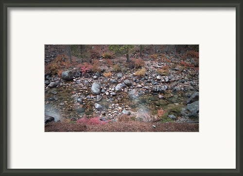 Mountain River Framed Print By Irina  March