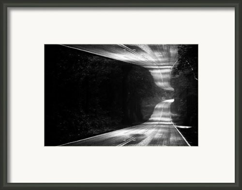 Mountain Road Dream Framed Print By Matt Hanson