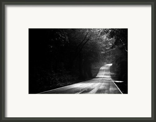 Mountain Road Ii Framed Print By Matt Hanson