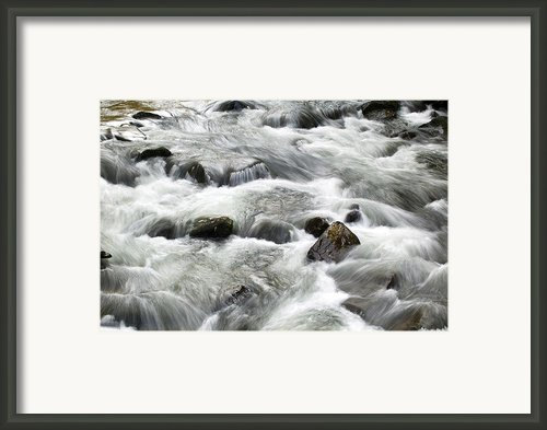 Mountain Stream Smokies Framed Print By Rich Franco