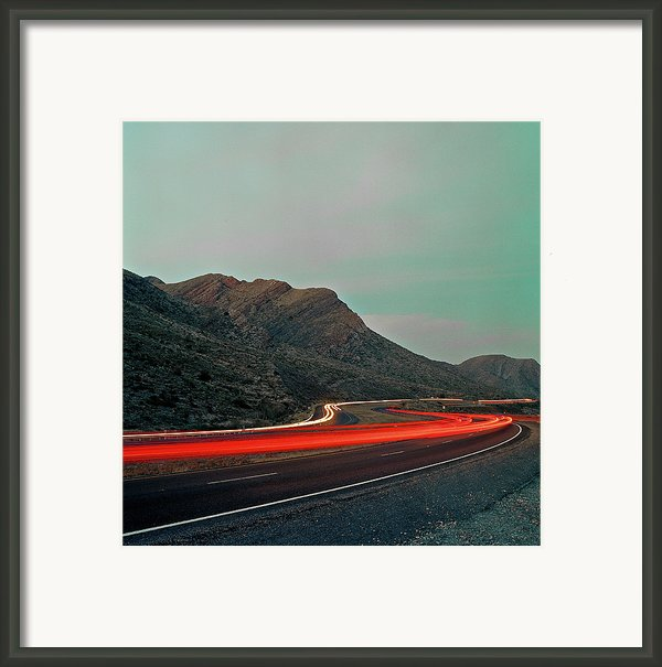 Mountain Zoom Framed Print By Mark A Paulda