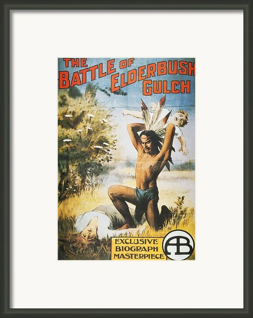 Movie Poster, 1913 Framed Print By Granger