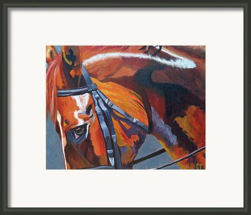 Mr. Big Stuff Framed Print By Anne West
