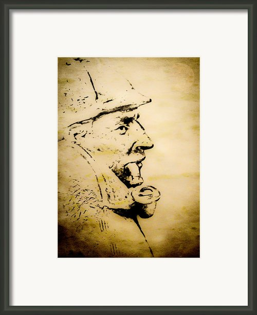 Mr Holmes Framed Print By Paul St George