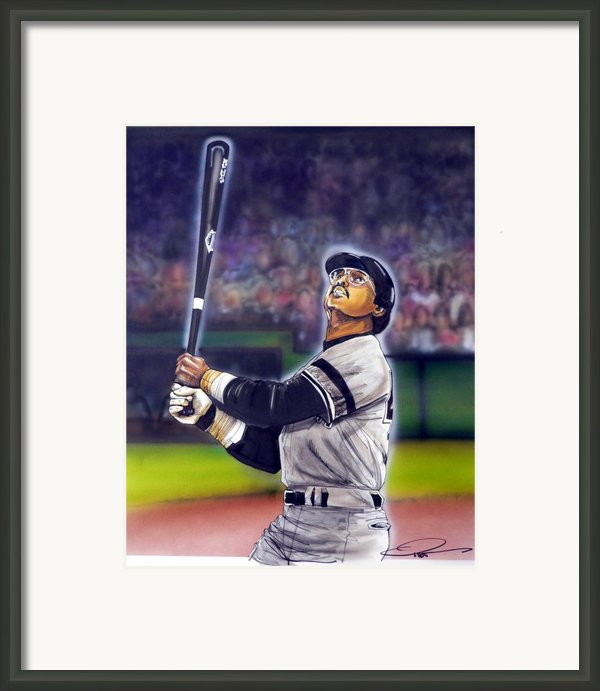 Mr. October Framed Print By Dave Olsen