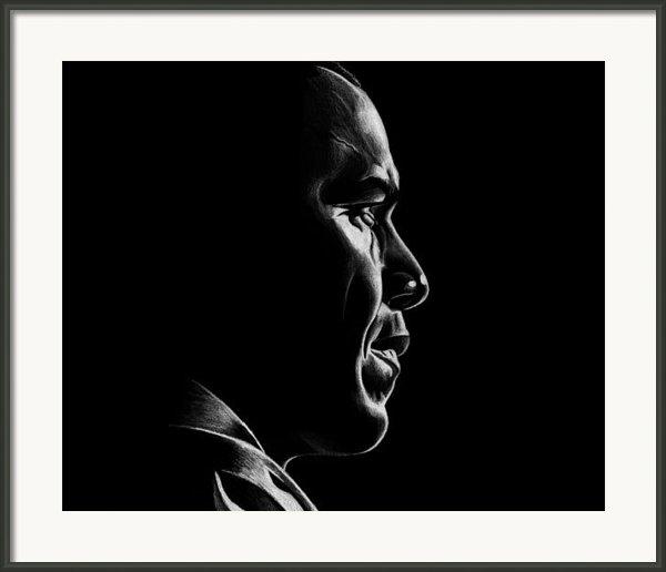 Mr. President Framed Print By Jeff Stroman
