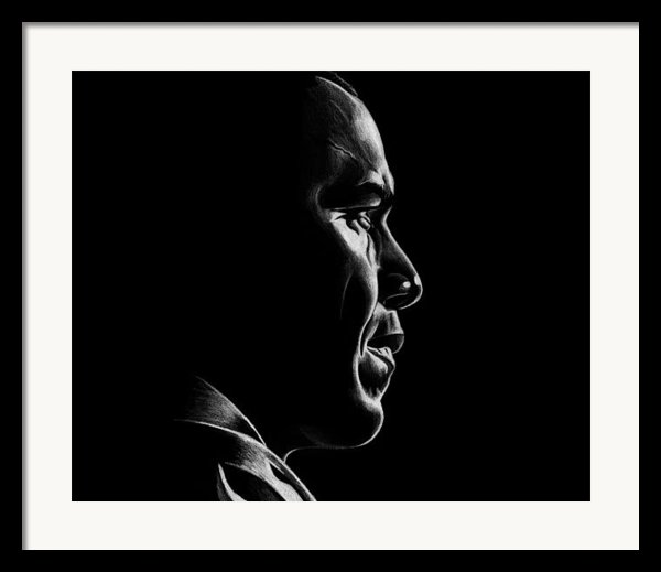 Mr. President Framed Print By Jeff Stroman