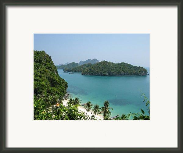 Mu Ko Ang Thong Marine National Park Framed Print By Nawarat Namphon