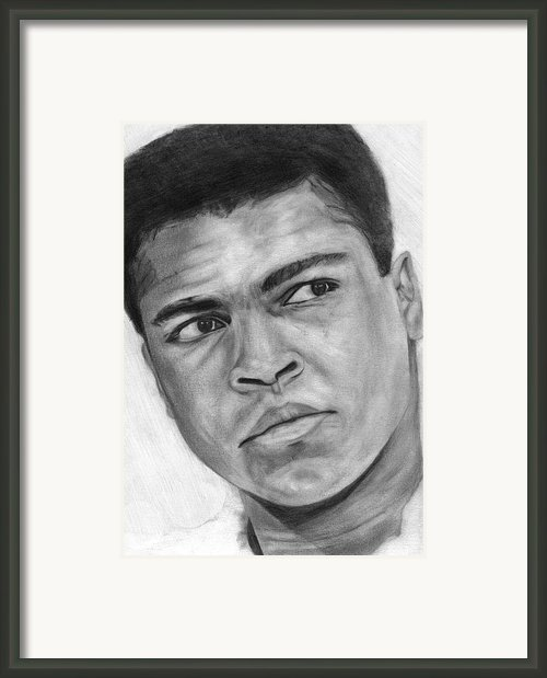 Muhammad Ali Framed Print By David Rives