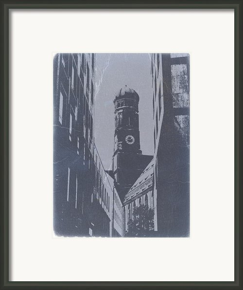 Munich Frauenkirche Framed Print By Irina  March