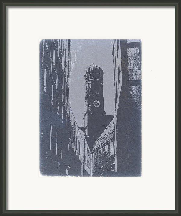Munich Frauenkirche Framed Print By Irina  March