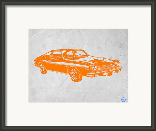 Muscle Car Framed Print By Irina  March