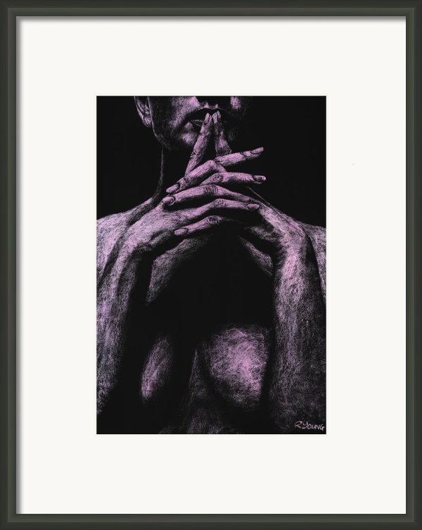 Museful Framed Print By Richard Young
