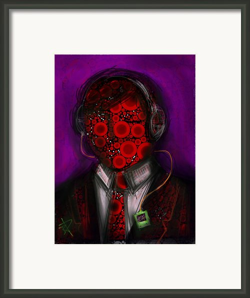 Music Lover Framed Print By Russell Pierce