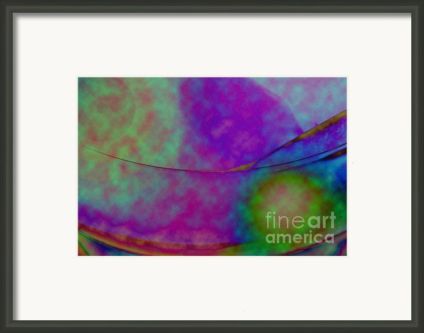 Muted Cool Tone Abstract Framed Print By Andee Photography