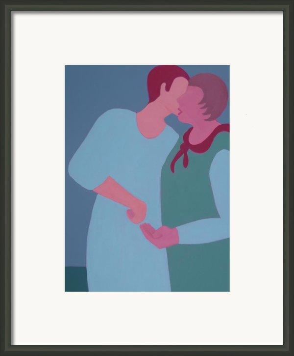 My Confidant Framed Print By Renee Kahn