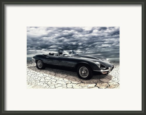 My Friend The Jag Framed Print By Joachim G Pinkawa