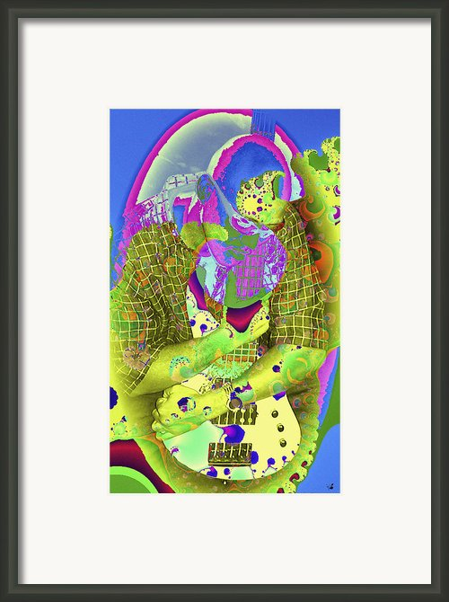 My Guitar Framed Print By Ginette Fine Art Llc Ginette Callaway