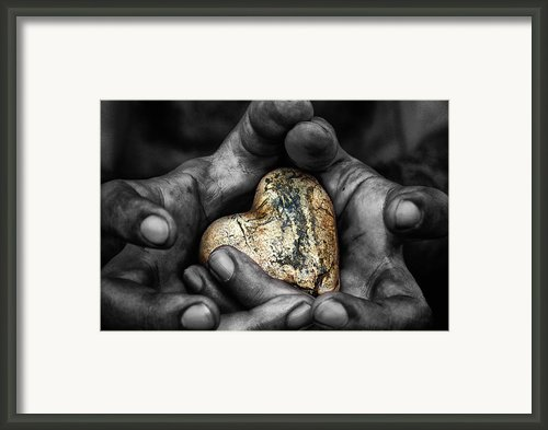 My Hands Your Hard Framed Print By Stylianos Kleanthous