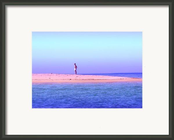 My Island Home Framed Print By Holly Kempe