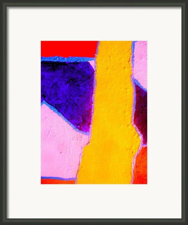 My Left Leg Framed Print By Allen N Lehman