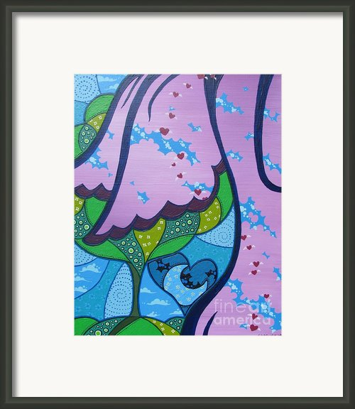 My Little Hippie Framed Print By Dan Keough
