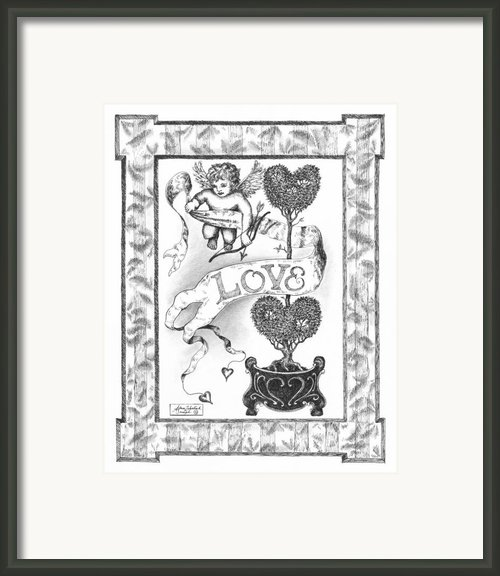 My Love Framed Print By Adam Zebediah Joseph