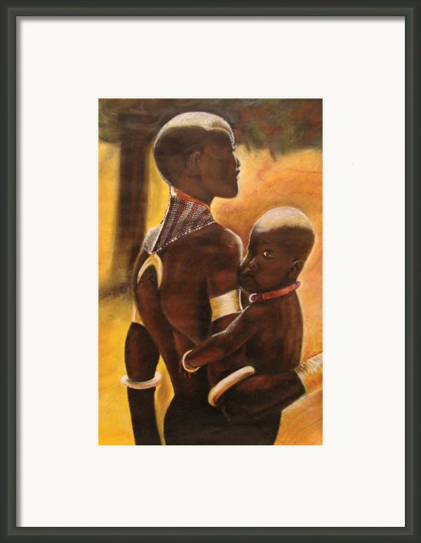 My Love Framed Print By Stacy V Mcclain