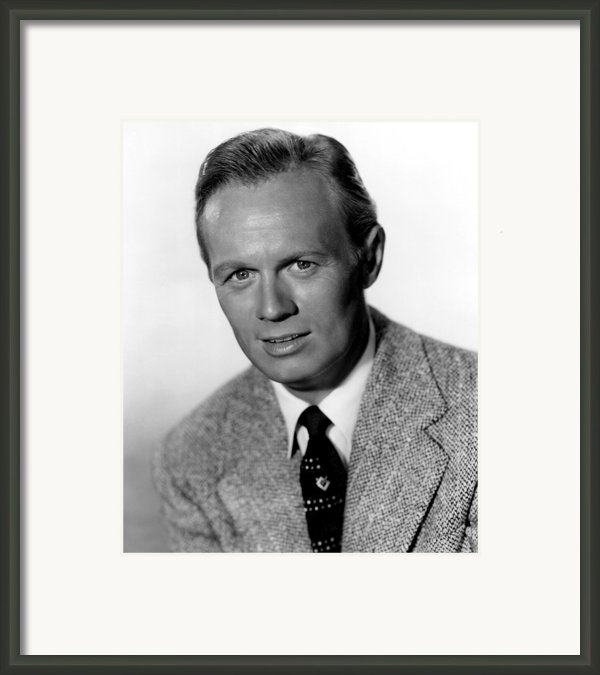 My Pal Gus, Richard Widmark, 1952 Framed Print By Everett
