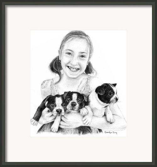 My Puppies Framed Print By Mike Ivey