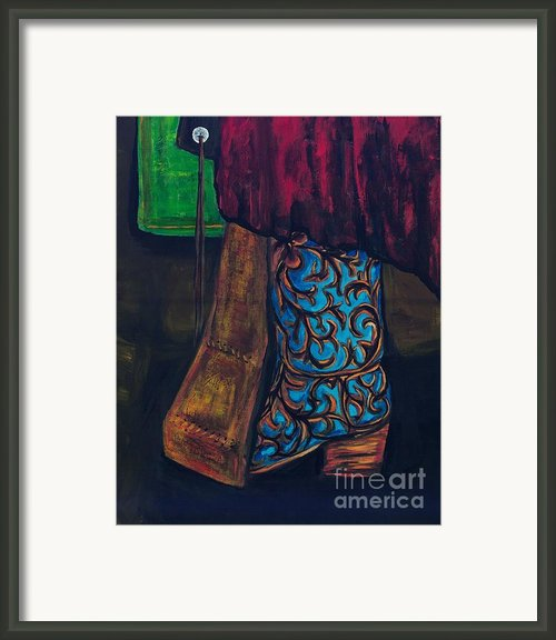 My Ride Home After The Dance Framed Print By Frances Marino